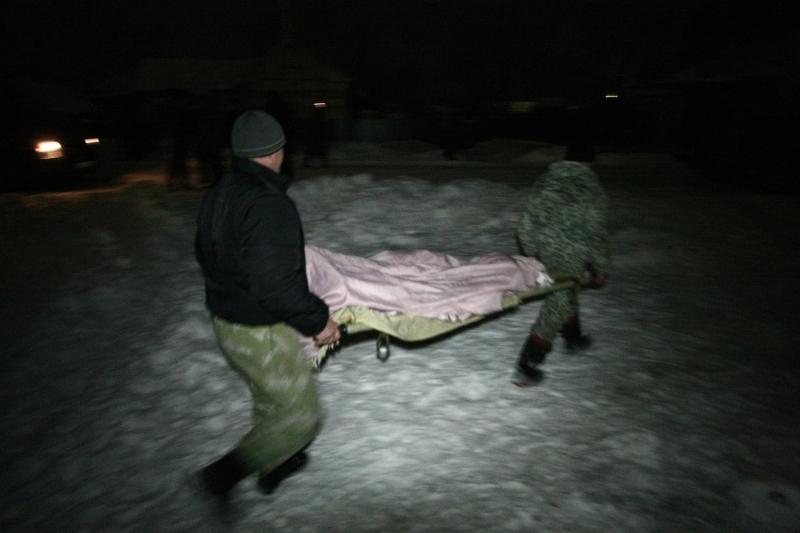 В Красном Сельце извлекли тела погибших детей из сгоревшего дома