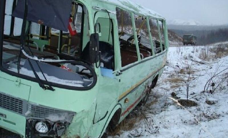 ВМордовии возросло число погибших столкновения фургона иавтобуса