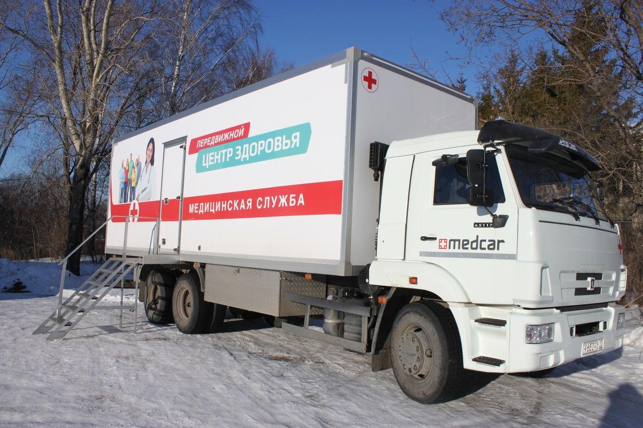 Мордовии будет выделено более 23 млн на приобретение'поликлиник на колесах