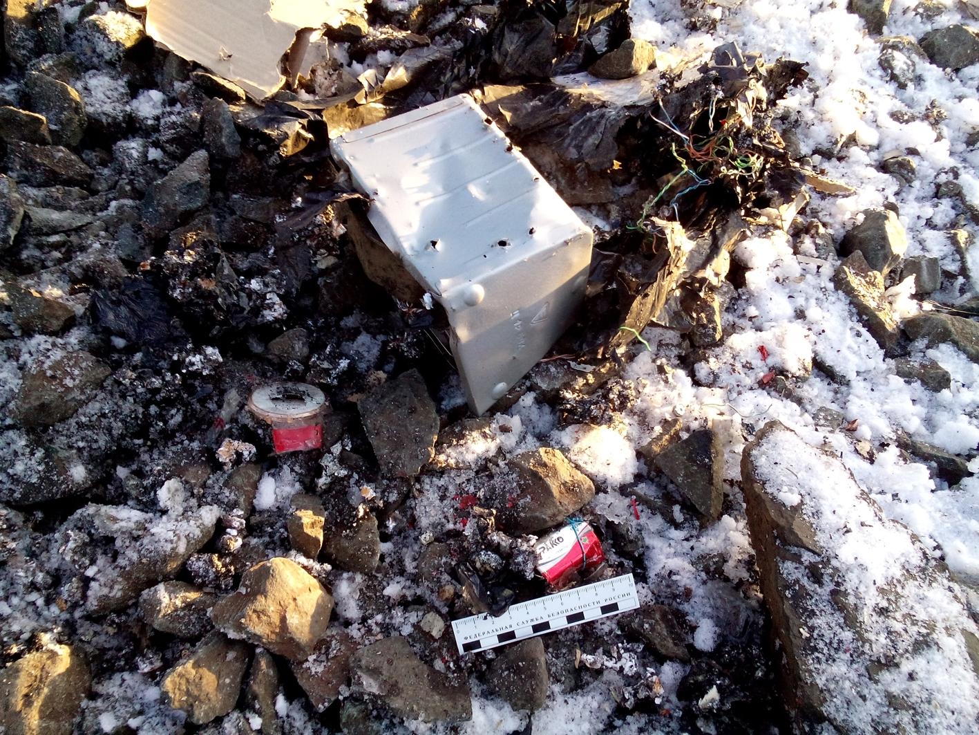 ВРузаевке навокзале отыскали ивзорвали муляж самодельной бомбы