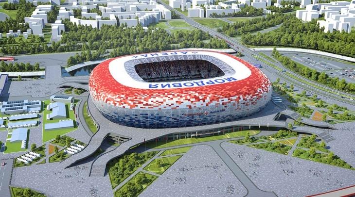 «Мордовия-Арена» будет оформлен в красочном солнечном цвете