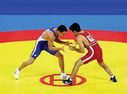 Первой погреко-римской борьбе наЧЕ вДагестане стала сборная РФ