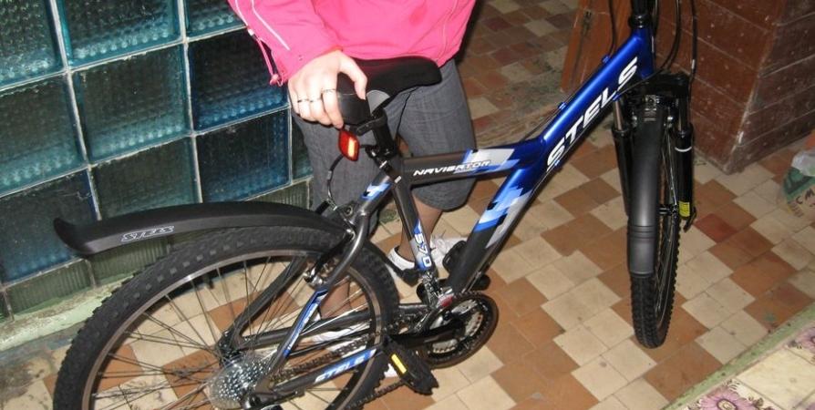 Гражданин Мордовии похитил удамы велосипед иоставил взамен старый