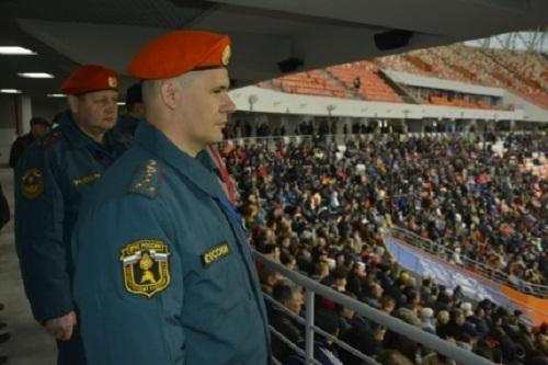 2-ой тестовый матч на«Мордовия Арене» посетили практически 23 тысячи наблюдателей