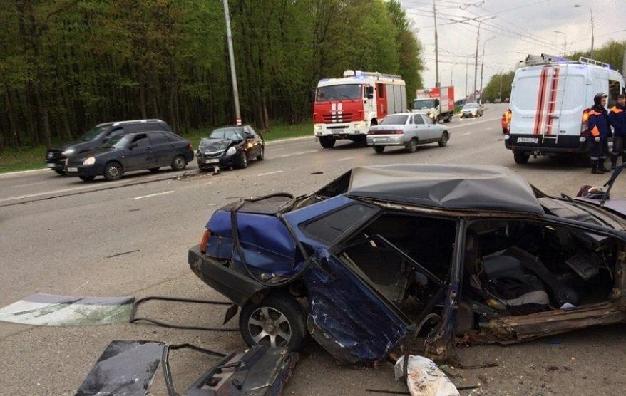 ВСаранске шофёр без прав спровоцировал тройное ДТП