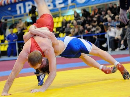 Борцы изПодмосковья завоевали золото исеребро чемпионата Российской Федерации