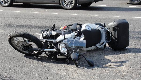 ВМордовии ученик на«девятке» насмерть сбил мотоциклиста