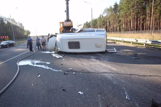 ВКраснослободском районе случилось ДТП, вкотором пострадали шесть человек