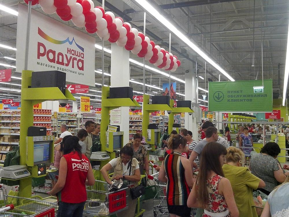 1-ый супермаркет Ашан вСаранске оборудуют Self-Checkout кассами