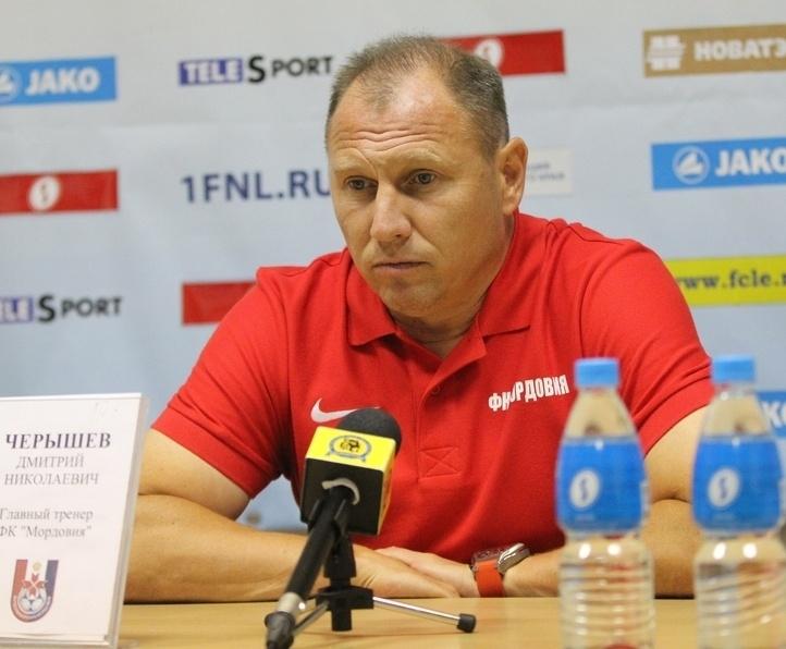 Тренер «Мордовии» дисквалифицирован на4 матча занеприличный жест