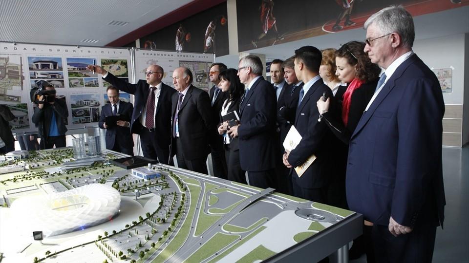 Кабмин позволил поменять договоры настадионы вЕкатеринбурге иКалининграде кЧМ
