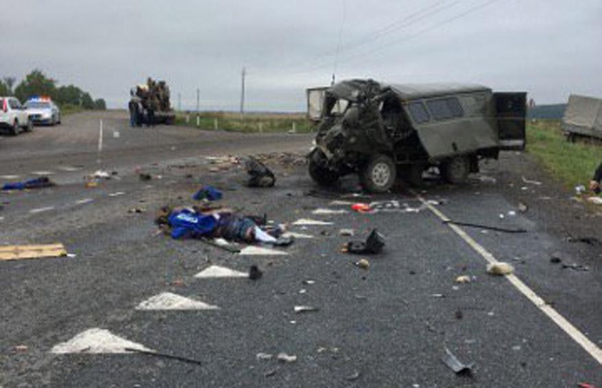 Вавтокатастрофе вМордовии погибли двое пассажиров «УАЗа»