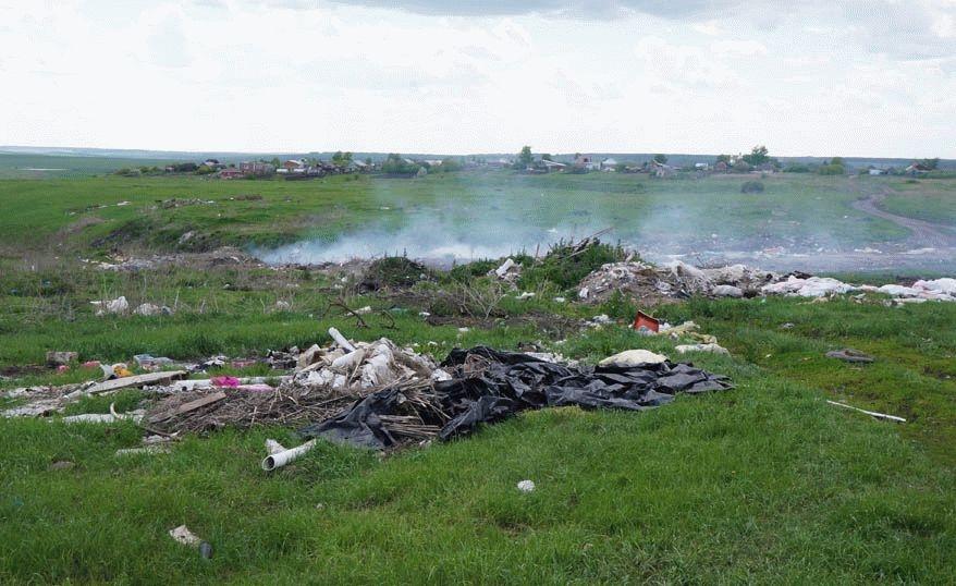 Вдагестанском селе Манаскент ликвидируют несанкционированную свалку
