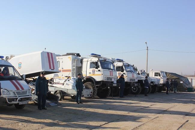 ВБелгородском районе развернули мобильный пункт обогрева