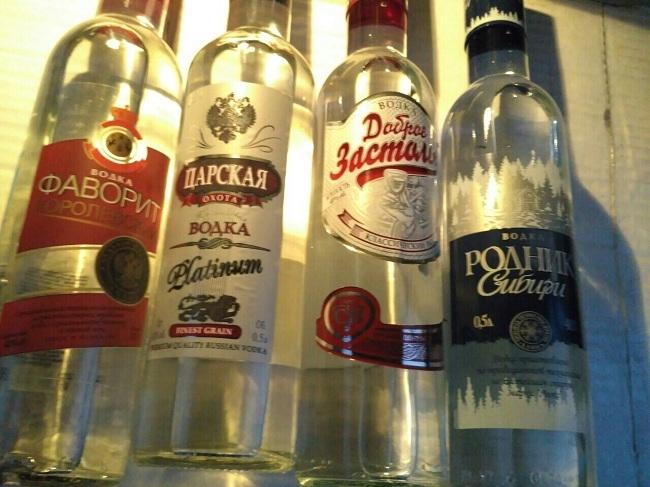Ужителя Саранска изъяли 220 бутылок «паленой» водки