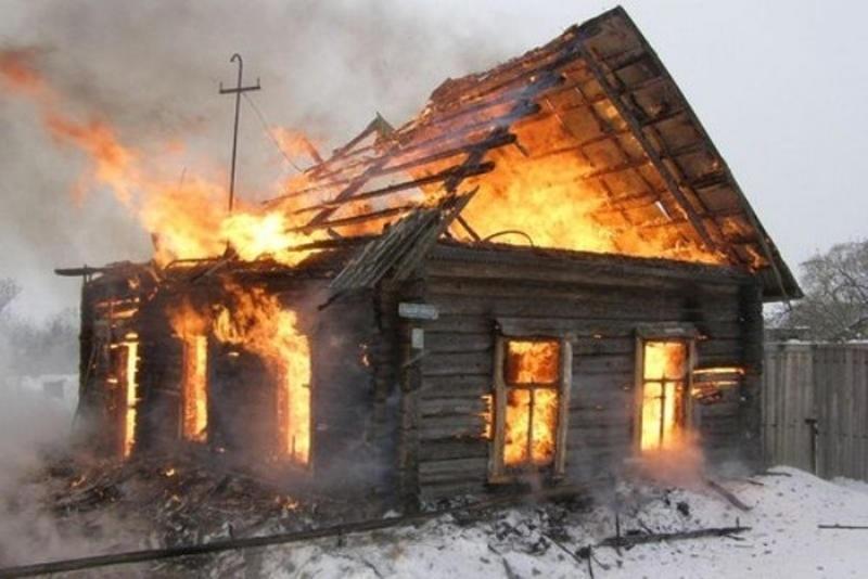 Гражданин Мордовии сгорел всвоем доме