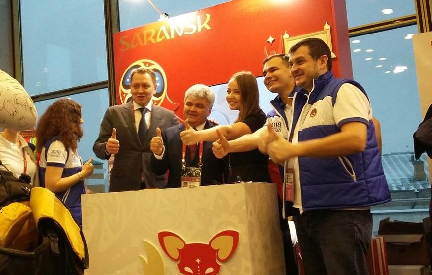 В столице России презентовали Саранск, как город-организатор ЧМ-2018 пофутболу