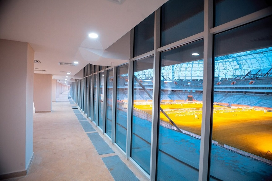 Настадионе «Мордовия Арена» начали возводить временную инфраструктуру кЧМ