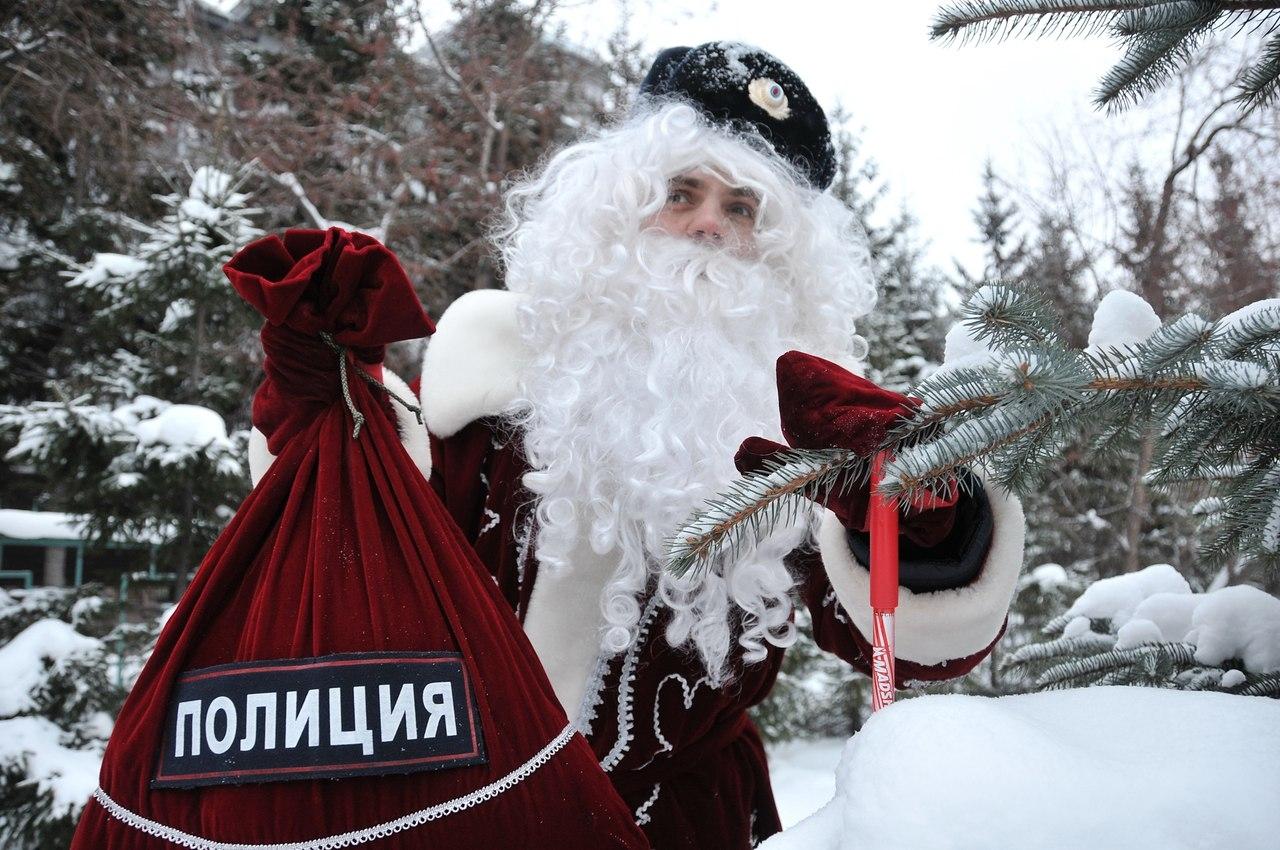 ВМВД РФ стартует Всероссийская акция «Полицейский дедушка Мороз»