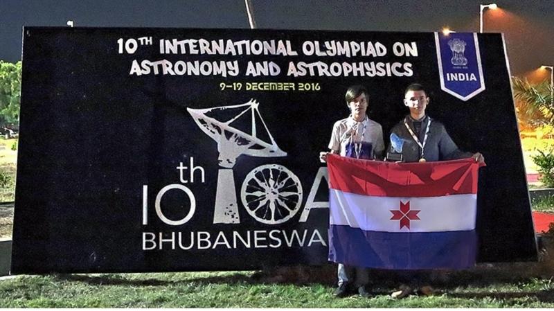 Русские школьники выиграли внеофициальном командном зачете наIOAA