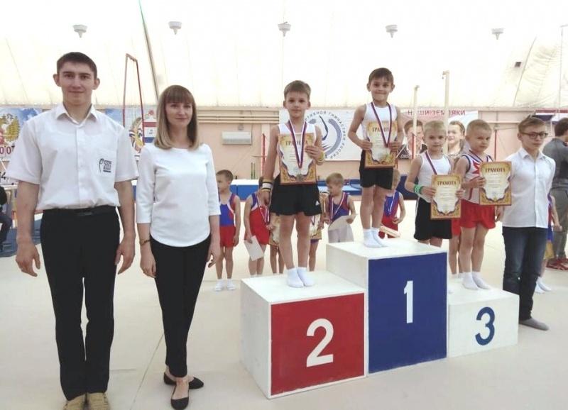 В Саранске состоялось первенство по спортивной гимнастике