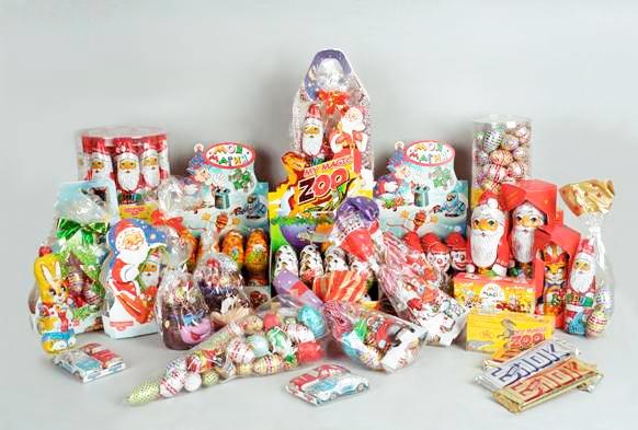 Новогодние сладкие новые подарки 74